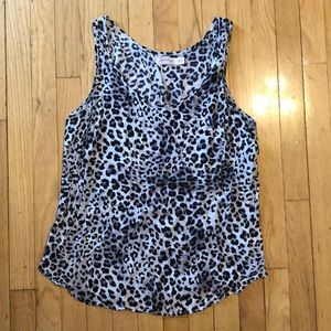 2 for $8 Faded Glory leopard tank top